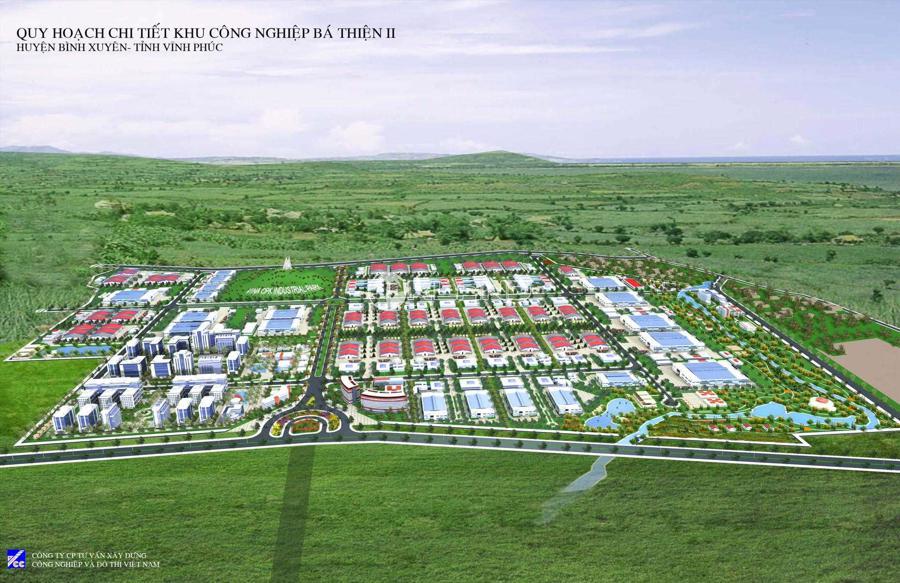 KCN Bá Thiện II đã thu hút hơn 50 doanh nghiệp với tổng mức đầu tư gần 1 tỷ USD.