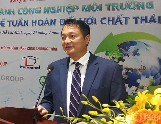Ông Trần Văn Lượng. Chủ tịch Hiệp hội Công nghiệp môi trường Việt Nam.