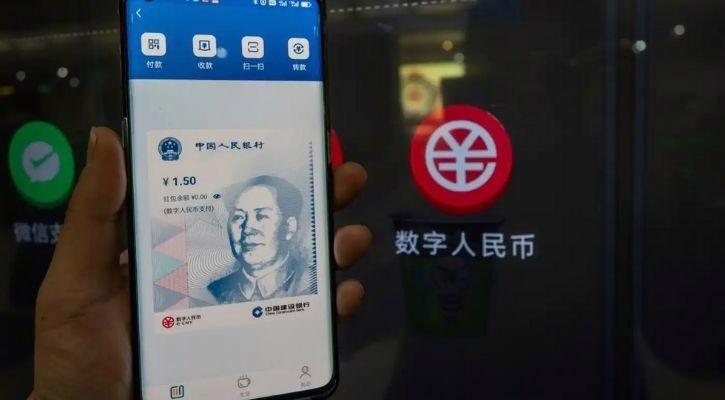 Trung Quốc đang thử nghiệm đồng Nhân dân tệ số tại một số tỉnh, trong đó quy mô lớn nhất tại thành phố Thâm Quyến, tỉnh Quảng Đông - Ảnh: Xinhua