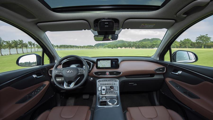 Hyundai Santa Fe 2021 nội thất