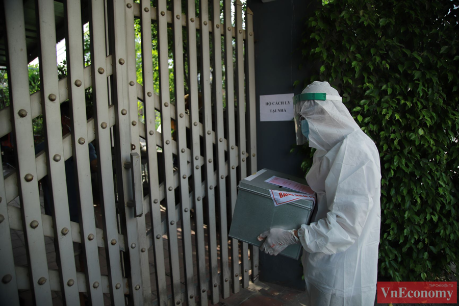 Giữa tâm dịch Bắc Ninh, ngày hội bầu cử diễn ra trang trọng, an toàn - Ảnh 6