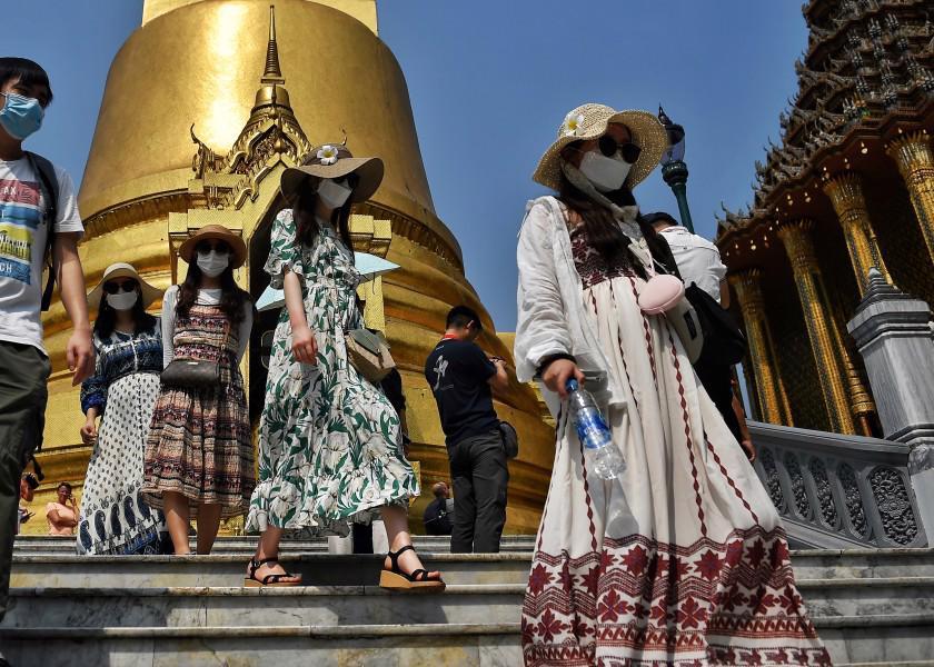 Khách du lịch tại Thái Lan - Ảnh: Getty Images
