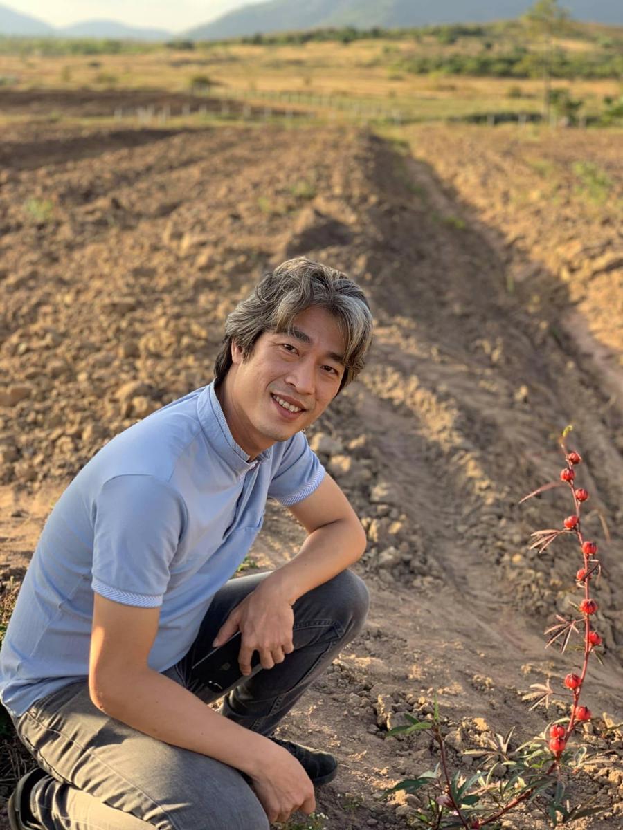 Anh Nguyễn Quang Huy, Founder của Green Vietnam và Si Healing Gardens