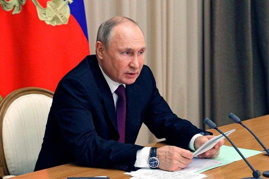 """Ông Biden gọiTổng thống Putin là """"kẻ sát nhân"""" - Ảnh: AP"""