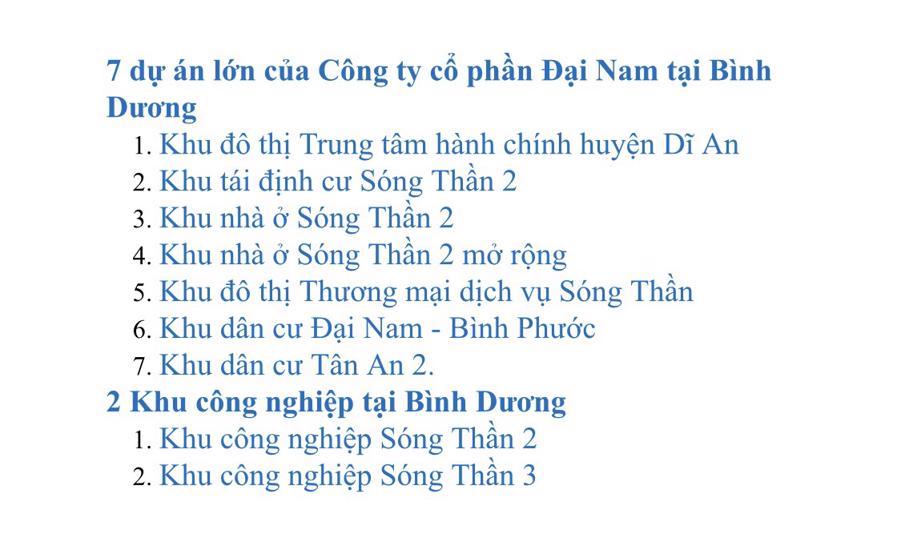 """Doanh nghiệp của 2 vợ chồng CEO Nguyễn Phương Hằng và Dũng """"Lò voi"""" sở hữu những dự án """"khủng"""" tại Bình Dương."""