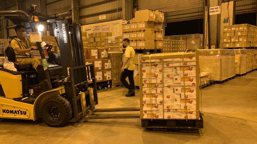 Vải thiều xuất khẩu đi Nhật Bản đều phải được xử lý bằng Methyl Bromide.