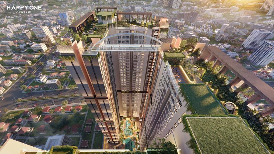 Happy One - Central mang đến chuỗi tổ hợp 68 tiện ích đỉnh cao đầu tiên tại trung tâm thành phố Thủ Dầu Một.