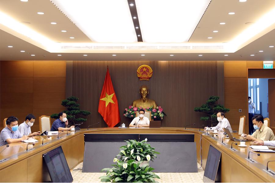 Toàn cảnh cuộc họp. Ảnh - VGP/Đình Nam.