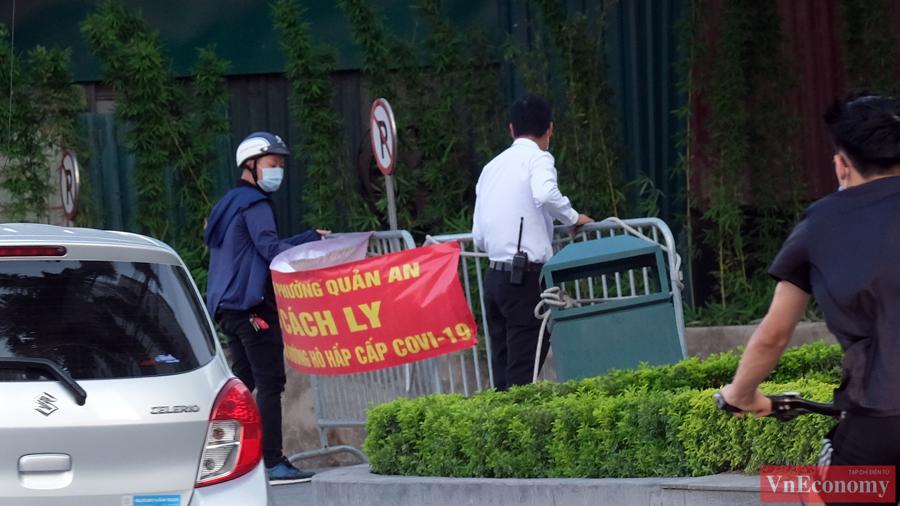 Hà Nội khẩn trương cách ly y tế tòa nhà tổ hợp quận Tây Hồ - Ảnh 1