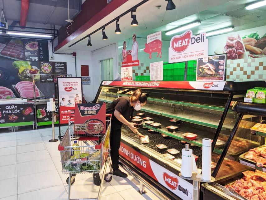 Sức mua thịt sạch MEATDeli và Gà Tươi 3F tăng đột biến trên hệ thống VinMart/VinMart+ tại Tp.HCM - Ảnh 1
