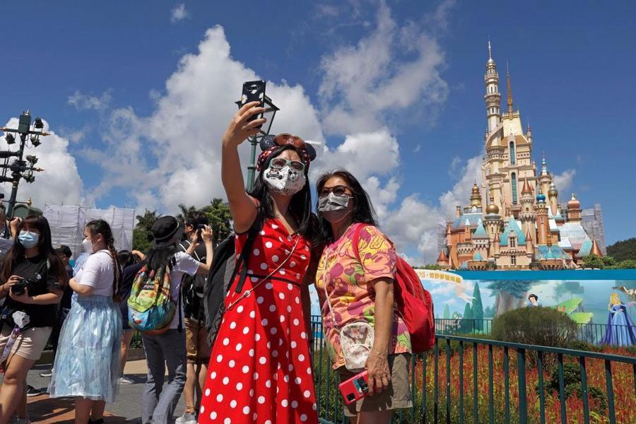 Công viên Disneyland tại Hồng Kông - Ảnh: Getty Images