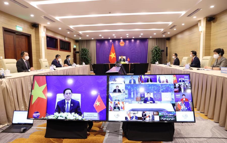 Toàn cảnh hội nghị - Ảnh: Bộ Ngoại giao