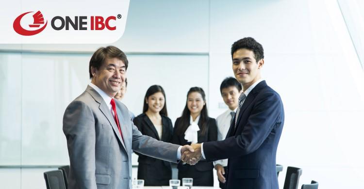 One IBC Việt Nam cam kết hỗ trợ khách hàng mở rộng thị trường quốc tế.