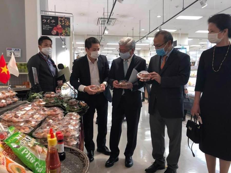 Ngày 3/6/2020, gần 5 tấn vải thiều đã được xuất khẩu sang Nhật Bản.
