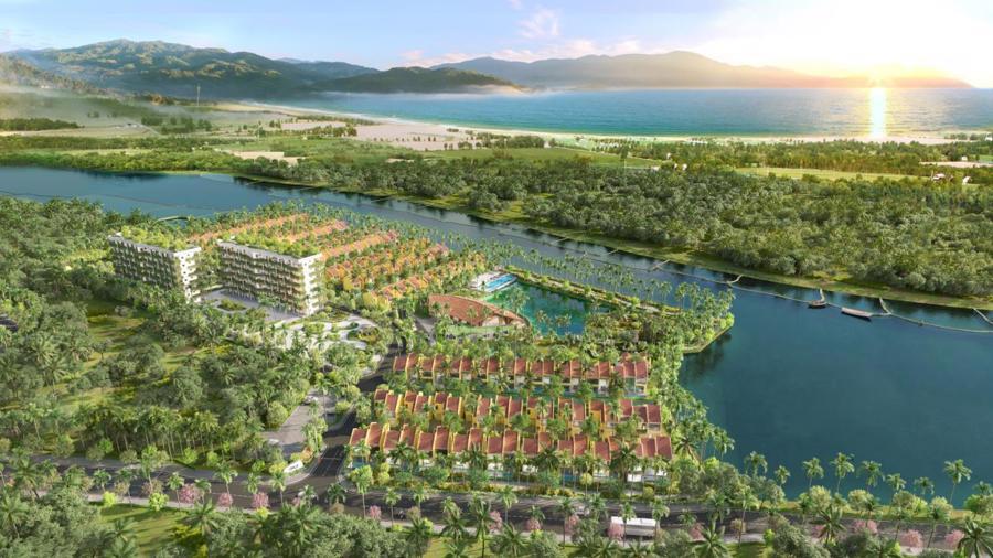 Casamia Calm Hoi An - đô thị mang phong cách resort đem lại cho cư dân cuộc sống an lành giữa thiên nhiên khoáng đạt.