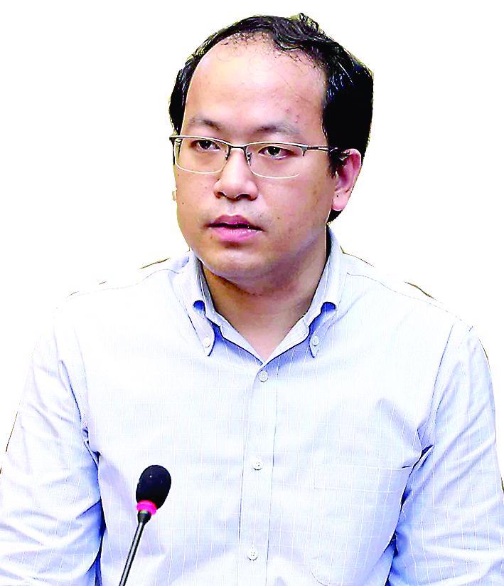 Ông Vũ Quốc Huy Giám đốc Trung tâm Đổi mới sáng tạo quốc gia (NIC)