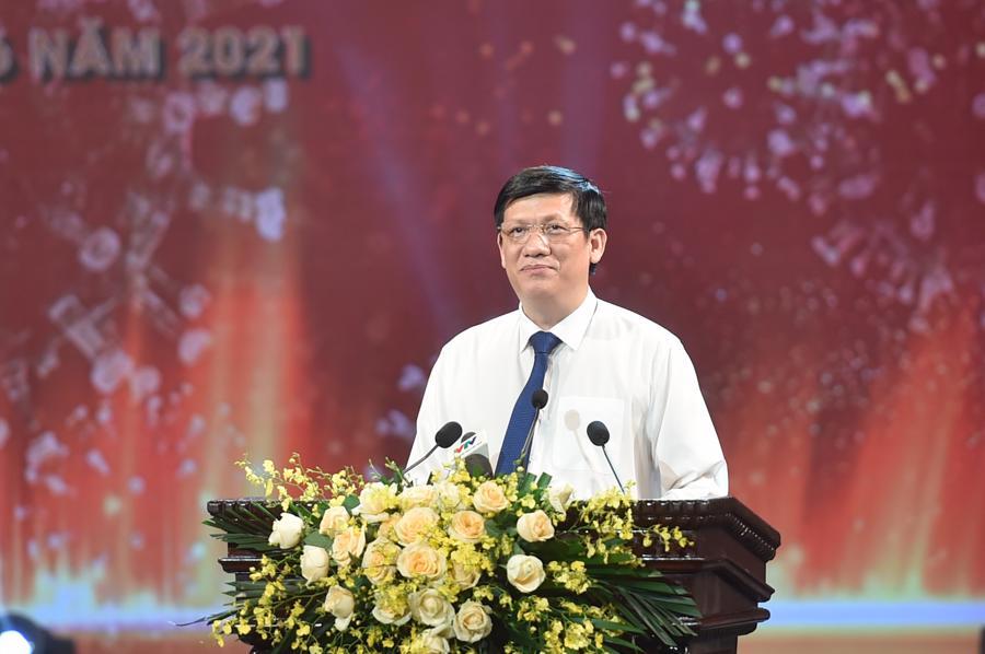 Bộ trưởng Bộ Y tế Nguyễn Thanh Long:Việc sử dụng hiệu quả từng đồng vốn của Quỹ là lương tâm, trách nhiệm, nghĩa vụ của Bộ Y tế, Bộ Tài chính, Chính quyền các cấp và các Bộ, ngành liên quan. Ảnh VGP