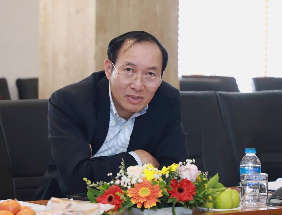 Ông Phạm Hồng Sơn, Phó Chủ tịch Ủy ban Chứng khoán Nhà nước. Ảnh: Quang Phúc.