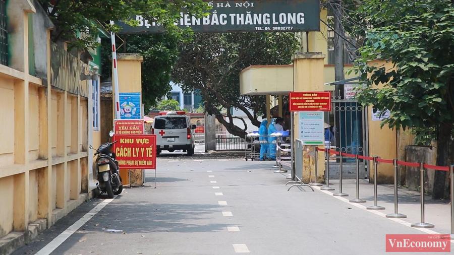 Xe cấp cứu ra vào bệnh viện phải chuyển sang đi qua cổng số 2.