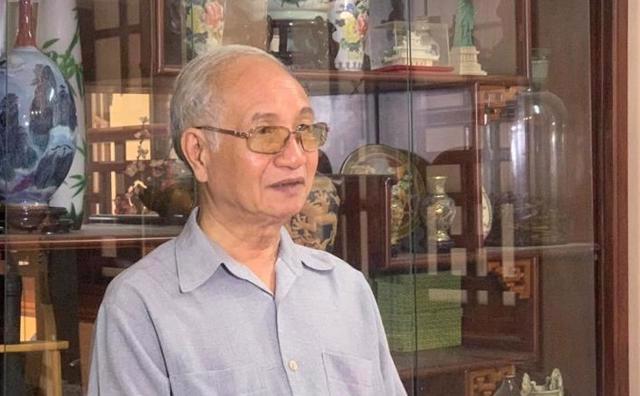 Ông Đào Ngọc Nghiêm, Phó Chủ tịch Hội Quy hoạch Phát triển đô thị Việt Nam