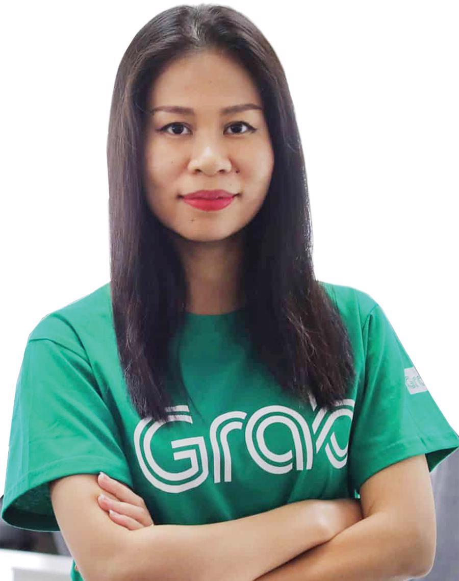 Bà Nguyễn Thái Hải Vân, Giám đốc điều hành Grab Việt Nam