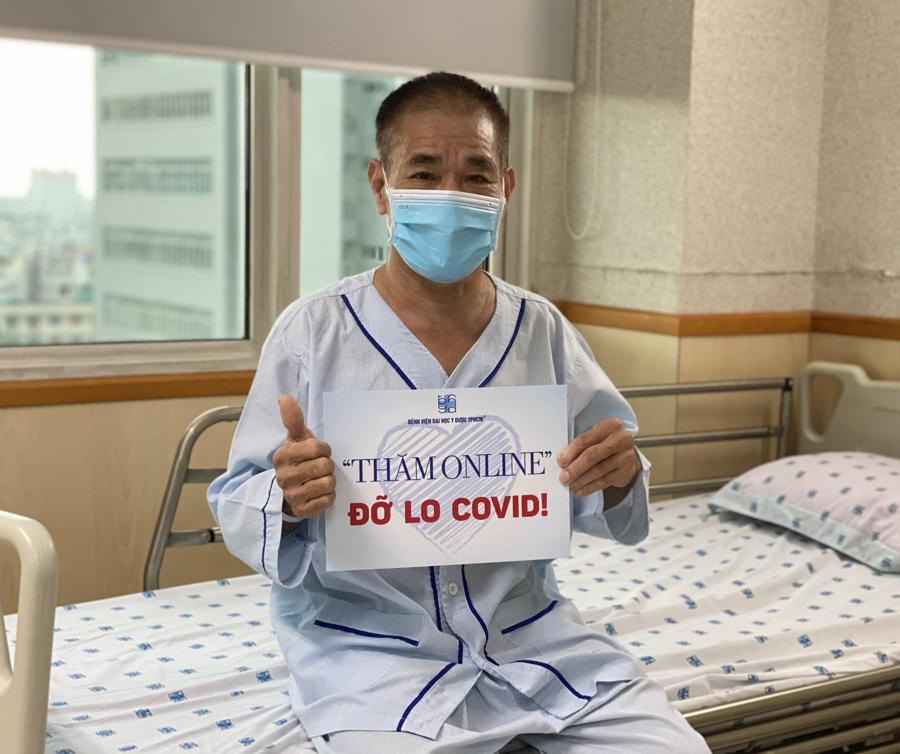 Sáng kiến của các bệnh viện vừa bảo đảm phòng chống dịch cho bệnh nhân và bệnh viện, vừa giúp người nhà người bệnh hoàn toàn an tâm.