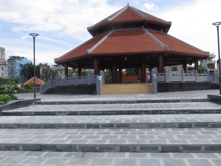 Khắc phục sự cố thi công Công viên Máy Tơ - Hải Phòng trước khi chính thức bàn giao cho thành phố - Ảnh 1