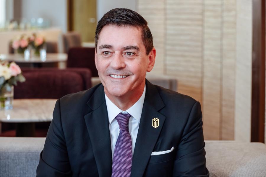 Ông Jason Turnbull - Phó tổng giám đốc kiêm Giám đốc tài chính của Masterise Homes.
