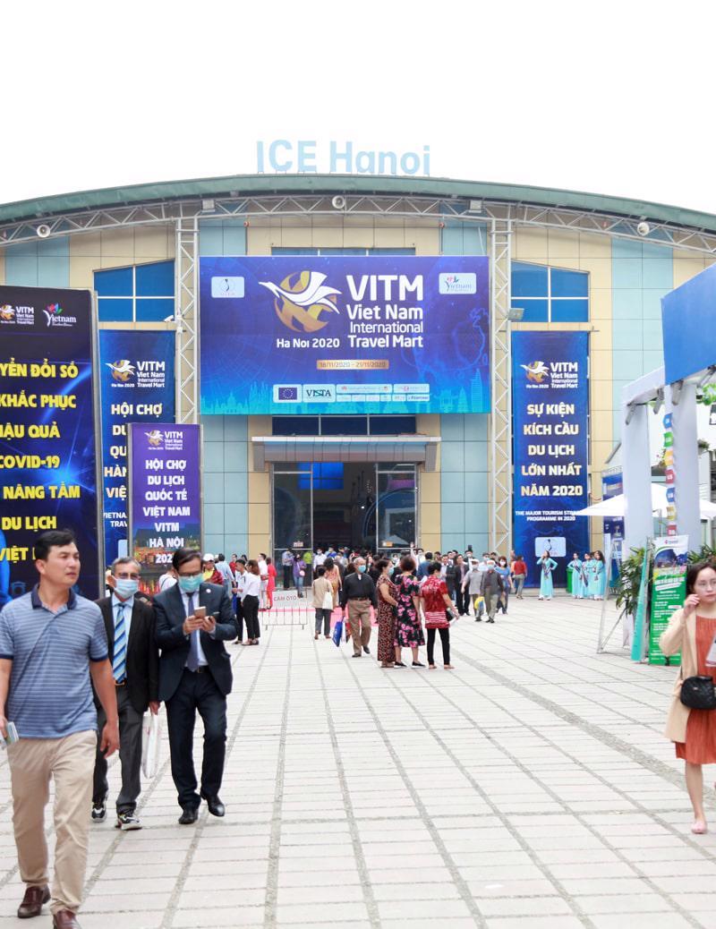 VITM 2020 đã thu hút đông đảo khách tham quan, dù cũng được tổ chức trong bối cảnh khó khăn vì dịch bệnh Covid-19.