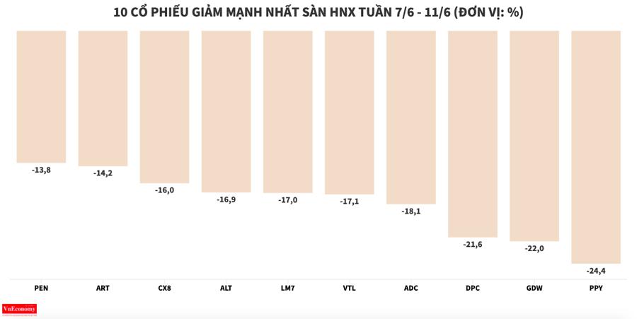 DXG lọt nhóm giảm mạnh nhất sàn HOSE trong tuần - Ảnh 6
