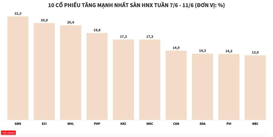 DXG lọt nhóm giảm mạnh nhất sàn HOSE trong tuần - Ảnh 5