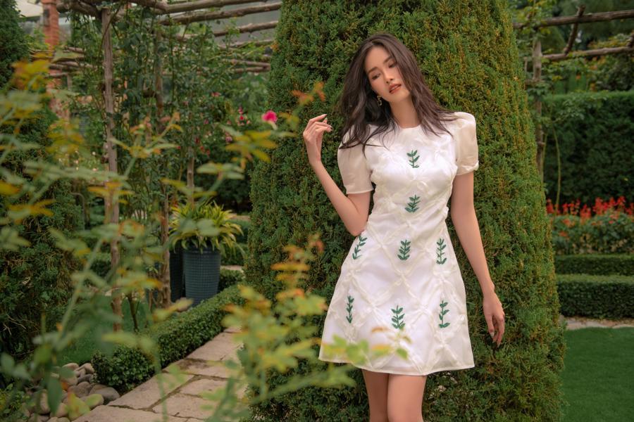 """Chọn trang phục hè theo phong cách """"nàng thơ"""" cùng Á hậu Phương Anh - Ảnh 6"""