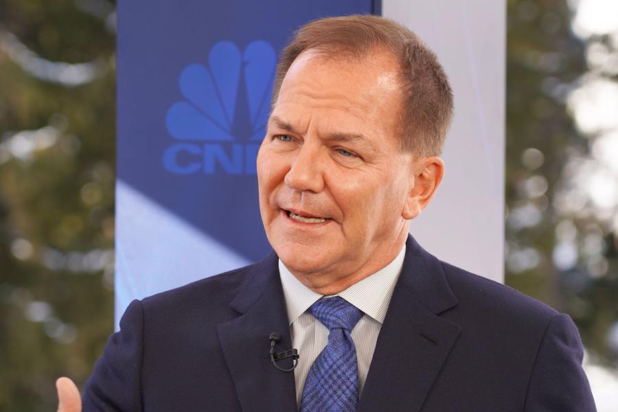Nhà đầu cơ Paul Tudor Jones - Ảnh: CNBC.