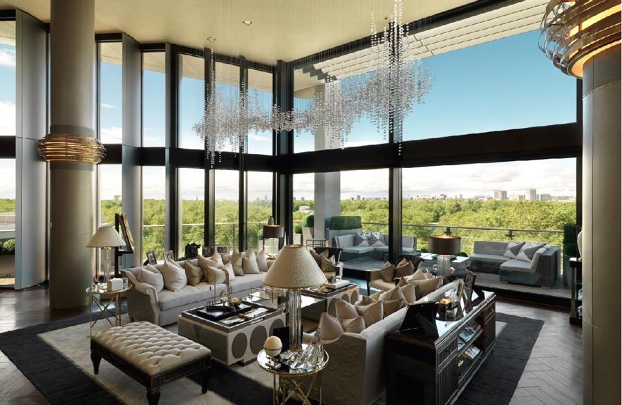 Cận cảnh căn Penthouse 247 triệu USD tại London - Ảnh 1