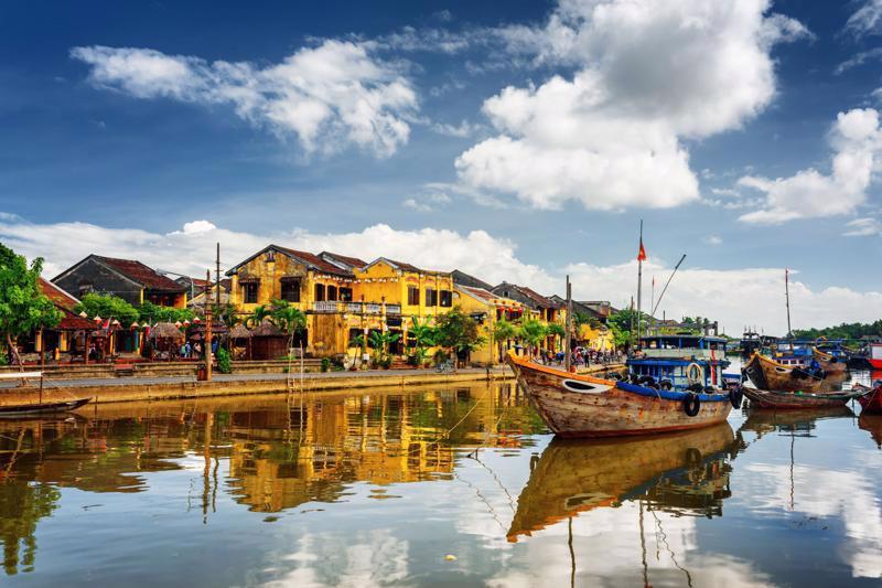 Thành phố Hội An là điểm đến thu hút khách du lịch trong nước và quốc tế. Ảnh: Internet.