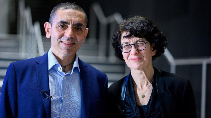 Vợ chồng Ugur Sahin và Ozlem Tureci.