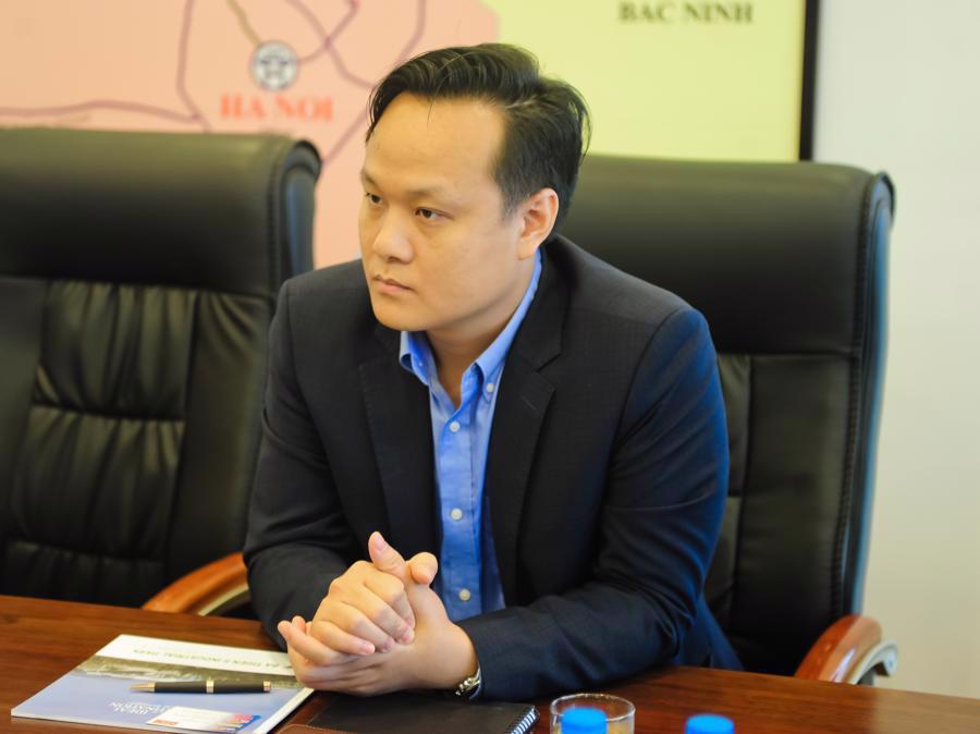 Ông Trịnh Văn Quang, Giám đốc Phát triển dự án Vina CPK