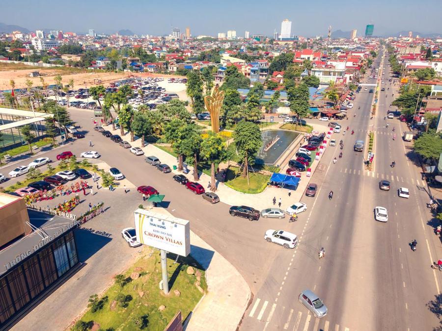 Diện mạo đô thị Thái Nguyên ngày càng khang trang hơn với việc thu hút làn sóng đầu tư mạnh mẽ.