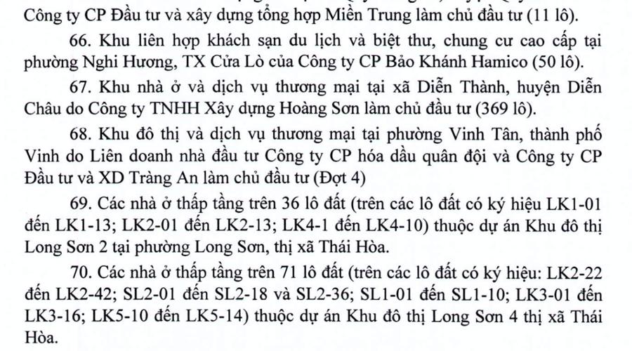 Sở Xây dựng Nghệ An: Dự án khu du lịch sinh thái Bãi Lữ chưa đủ điều kiện huy động vốn - Ảnh 2