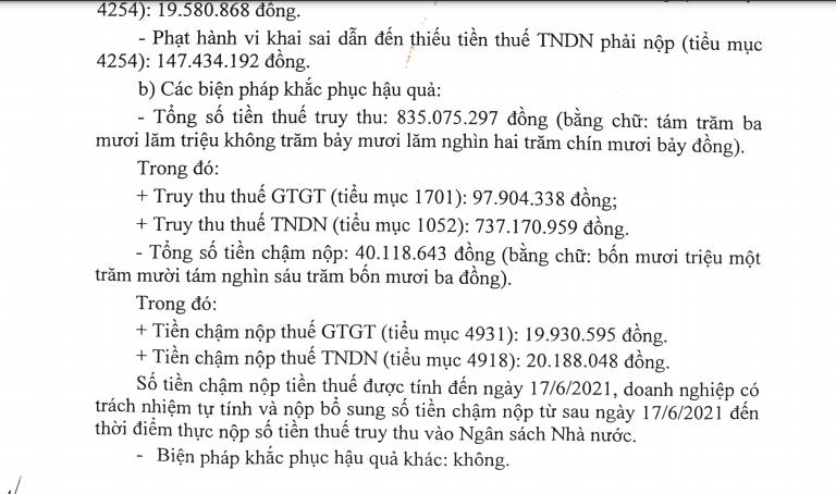 Xử phạt Vàng bạc đá quý Phú Nhuận hơn 1 tỷ đồng vì cố tình khai sai tiền thuế - Ảnh 1