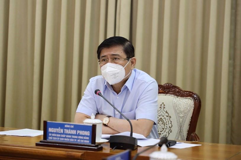 Chủ tịch Ủy ban nhân dân TP.HCM Nguyễn Thành Phong