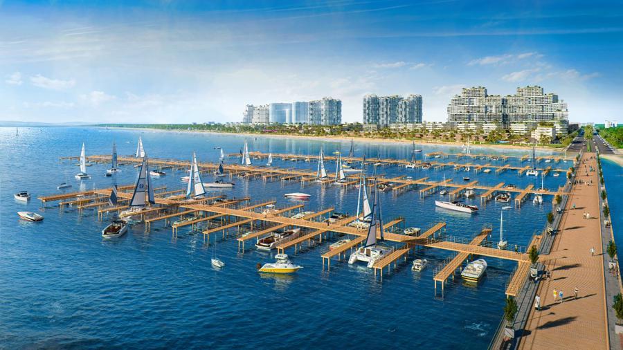 Thanh Long Bay đang trong chiến lược trở thành khu đô thị nghỉ dưỡng, giải trí và thể thao biển đáng sống hàng đầu khu vực - Blue destination.