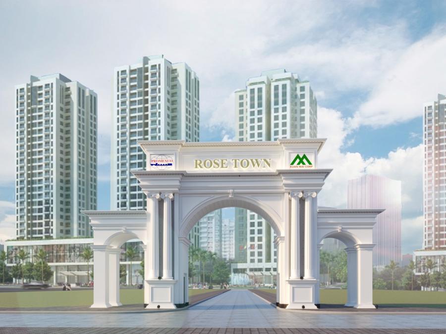 Rose Town đang là dự án nổi bật của bất động sản phía Nam.