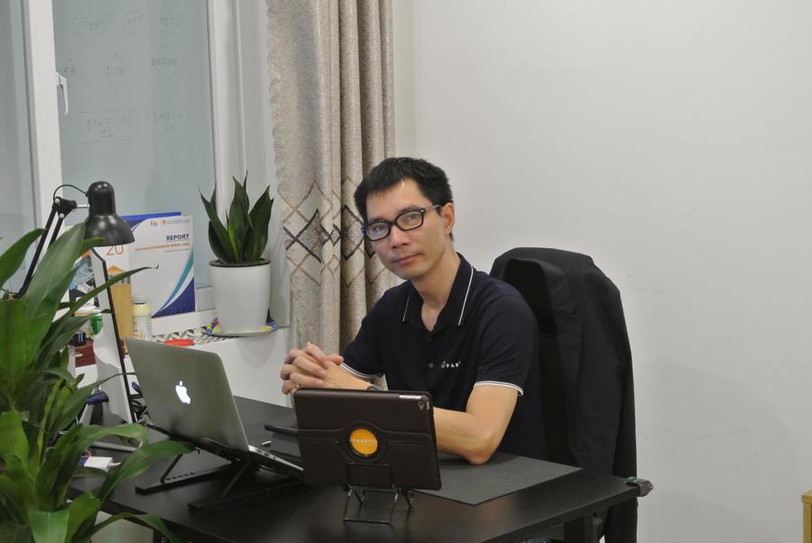 """Ông Nguyễn Hải Nam, Giám đốc Công ty Paretix tại Việt Nam, đơn vị cung cấp giải pháp: """"Chấm điểm tín dụng nhóm khách hàng dễ bị tổn thương""""."""
