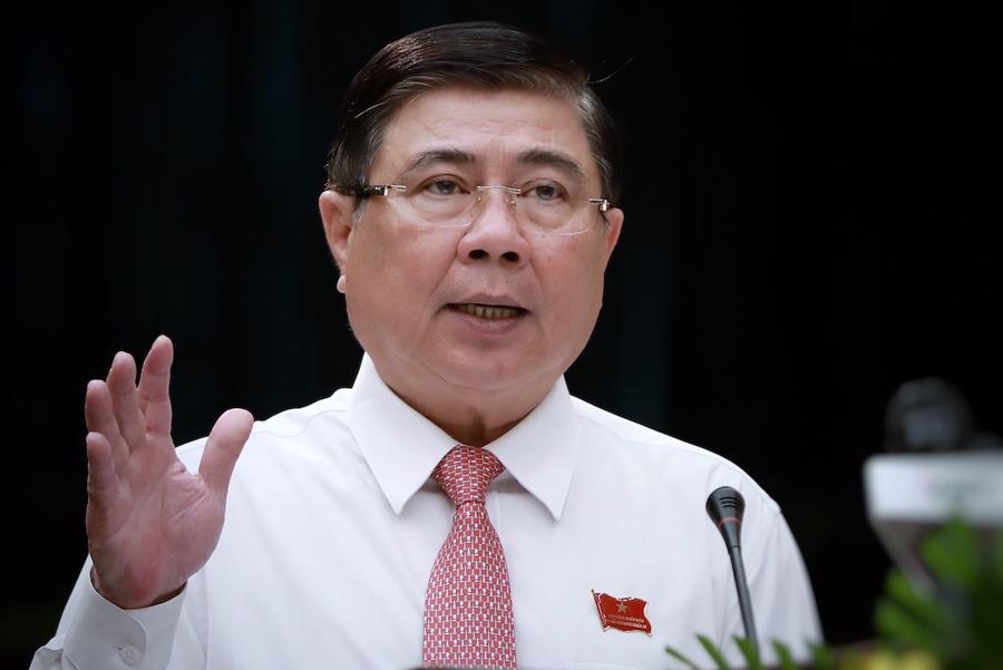 Ông Nguyễn Thành Phong,Phó bí thư Thành ủy, Chủ tịch UBND TP.HCM nhiệm kỳ 2016 - 2021.