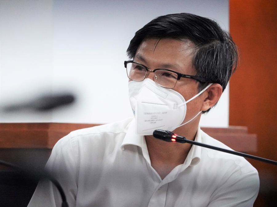 Ông Nguyễn Trí Dũng, Giám đốc Trung tâm Kiểm soát bệnh tật TP.HCM (HCDC)