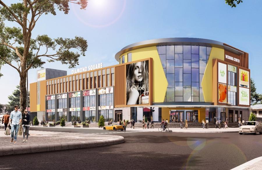 Diamond Square: Trung tâm thương mại đầu tiên tại Bồng Sơn, Hoài Nhơn, Bình Định.