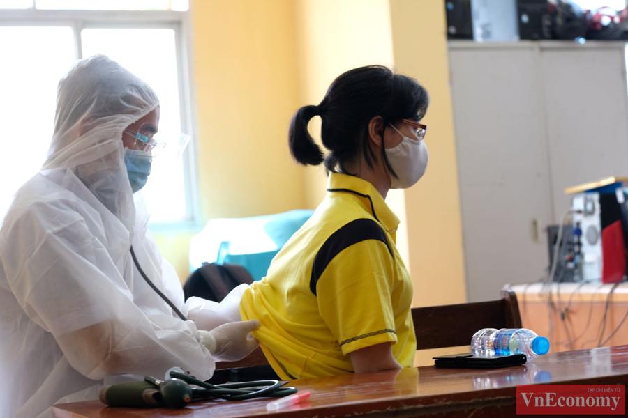 Hà Nội diễn tập phòng, chống dịch Covid-19 cho kỳ thi tốt nghiệp THPT - Ảnh 5