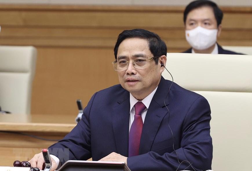 Chủ tịch Quốc hội, Thủ tướng Chính phủ hội kiến Tổng Bí thư, Chủ tịch nước Lào - Ảnh 1