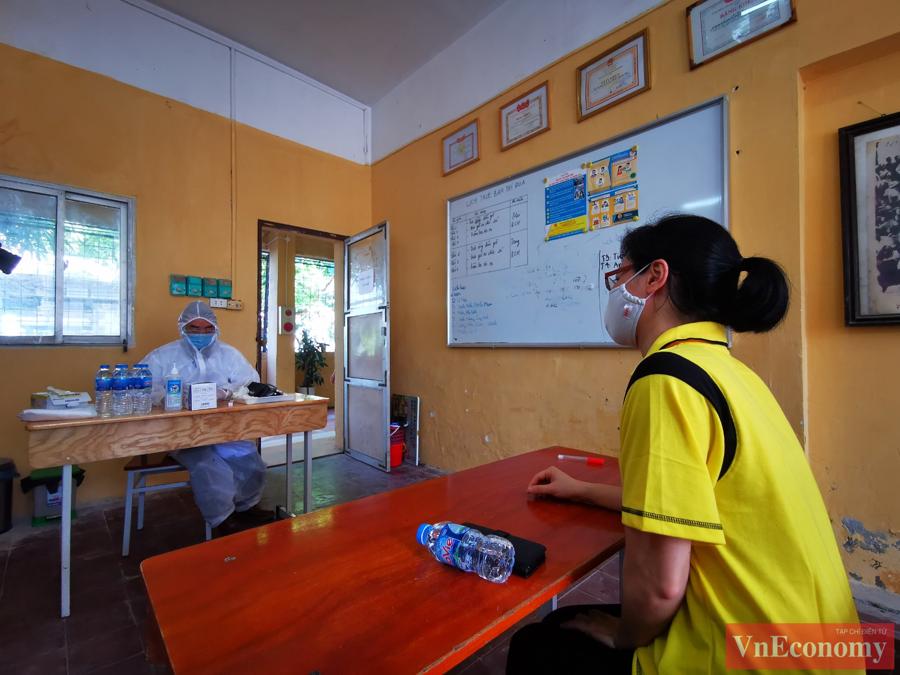 Hà Nội diễn tập phòng, chống dịch Covid-19 cho kỳ thi tốt nghiệp THPT - Ảnh 4